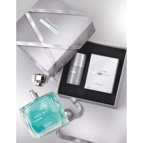 Eclat Homme EDT + Roll on Deo Set