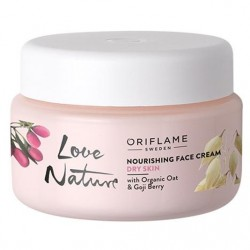 Nourishing Face Cream with Organic Oat & Goji Berry