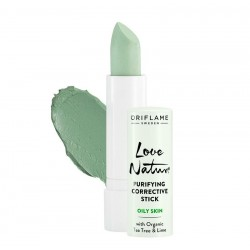 Purifying Corrective Stick with Organic Tea Tree & Lime
