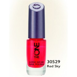The One Longwear Nail Polis Red Sky