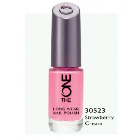 The One Longwear Nail Polish Strawberry Cream