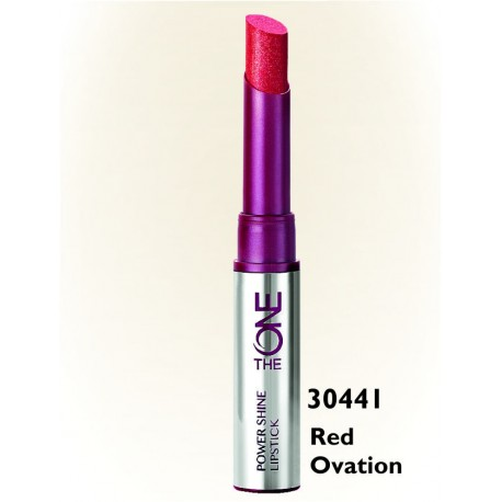 The One Power Shine Lippenstift Red Ovation