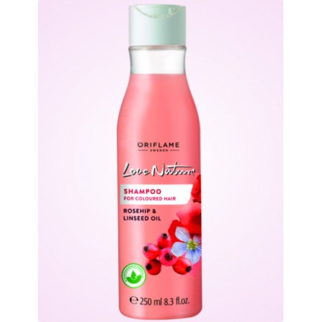 Love Nature Shampoo Rosehip & Linseed Oil