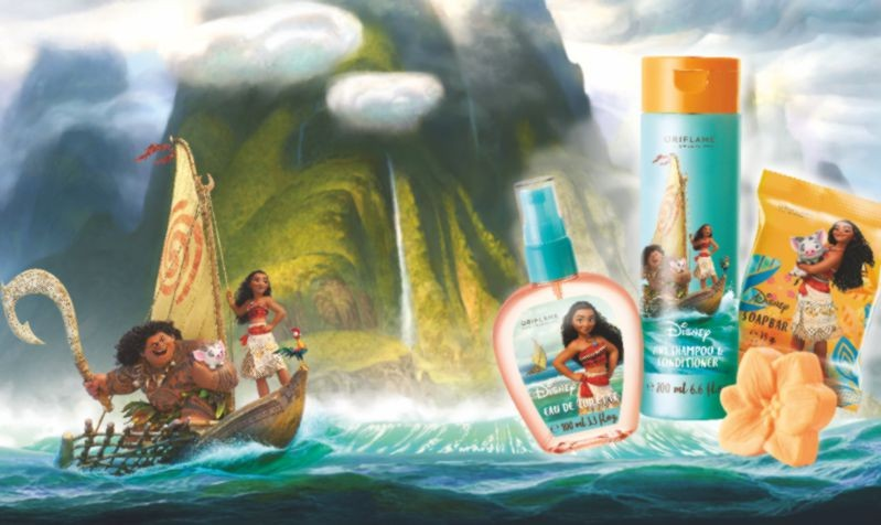 #Disney Moana EDT & 2-in1 Shampoo