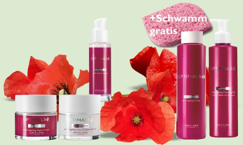 #Optimals Anti-Age Gesichtspflege