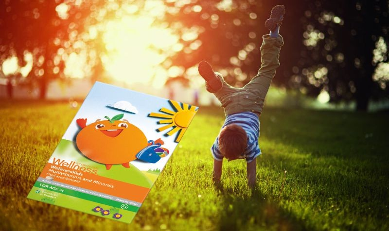 #WellnessKids Multivitamine